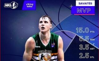 Idealiai pataikęs O.Kaminskis - NKL savaitės MVP