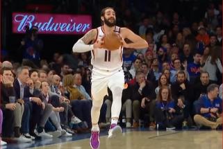 R.Rubio perdavimas per pusę aikštės ir D.Aytono dėjimas - gražiausias NBA momentas