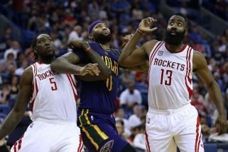 """D.Motiejūno """"kerštą"""" ir D.Cousinso debiutą užgožė """"Rockets"""" puolimo banga"""