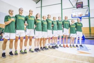 Lietuvos U20 merginų rinktinė išsaugojo vietą Europos čempionato A divizione