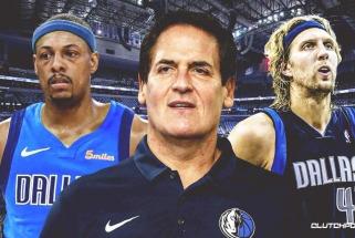 """Cubanas: """"Mavericks"""" jau buvo sudarę sandėrį dėl Pierce'o įsigijimo jo karjeros pike"""