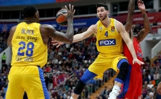 """Netikėtumas Eurolygoje: CSKA nusileido """"Maccabi"""" ir """"Žalgirį"""" nuleido į 13-ą vietą"""
