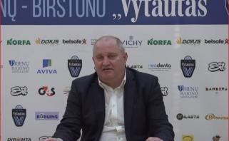 """""""Vytautas"""" - ties prarajos riba -neatsilaikė prieš """"Neptūną"""" (video komentarai)"""