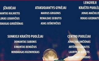 D.Adomaičio rinktinės kandidatų sąrašas - be žalgiriečių ir D.Motiejūno