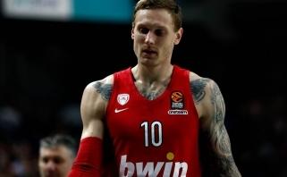 """""""Olympiacos"""" latvį J.Timmą skolina R.Kurtinaičio vadovaujamam """"Chimki"""""""