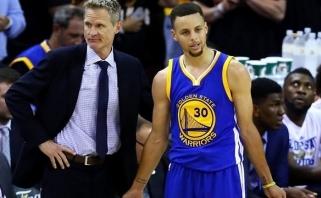 NBA čempionų treneriui ir lyderiui skirtos solidžios baudos