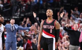 """NBA: šokiruojantis """"Bulls"""" pralaimėjimas, 59 D.Lillardo taškai ir """"Raptors"""" itin palanki """"Heat"""" pergalė"""