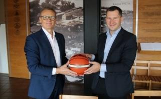 """LKL pratęsė bendradarbiavimą su """"Volfas Engelman"""""""