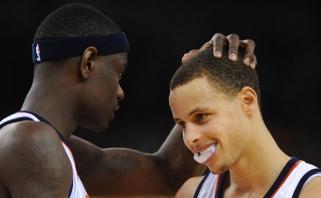 """A.Morrow: pakrikštyjau Curry """"Mažyliu iš vidurinės mokyklos"""", o jis tapo vienu didžiausių žaidėjų"""