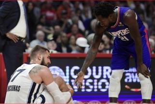 Pasitvirtino liūdniausios prognozės: Valančiūnas šį NBA sezoną į aikštę nebegrįš