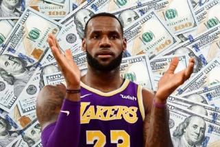 Rekordą pasiekęs LeBronas – vėl daugiausia uždirbsiantis NBA žaidėjas