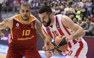 """Crvena Zvezda"" neturėjo vargo su ""Galatasaray"" (video)"