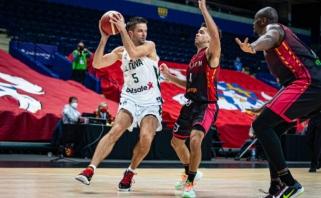 Atnaujintame FIBA reitinge Lietuva liko toje pačioje pozicijoje