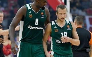 """Puikiai žaidęs L.Lekavičius buvo vienas pergalės kalvių prieš """"Maccabi"""""""