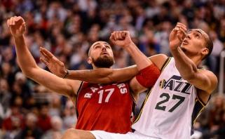 Prancūzas R.Gobertas: šiuo metu esu geriausias NBA vidurio puolėjas