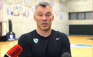 """Š.Jasikevičius: nepasakyčiau, kad """"Baskonia"""" nepalanki """"Žalgiriui"""", ji nepalanki visiems"""