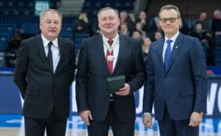 """""""Lietkabelio"""" prezidentui - aukščiausias LKL įvertinimas"""