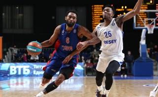 CSKA pralaimėjimų seriją nutraukė Sibire