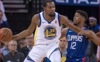 """""""Clippers"""" rimtai pretenduoja į K.Durantą"""