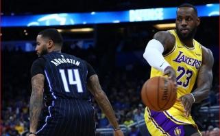 """""""Lakers"""" rimtai nusitaikė į D.J.Augustiną"""