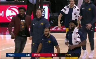"""Paskutiniame reguliariojo sezono mače D.Sabonis ilsėjosi, """"Pacers"""" laimėjo paskutinę sekundę"""