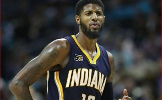 """P.George'as: jei nebūčiau iškeistas į """"Thunder"""" dabari žaisčiau """"Lakers"""""""