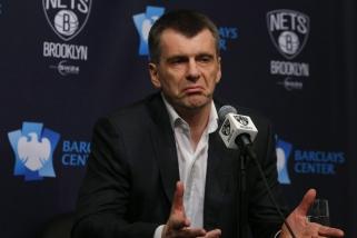 """M.Prochorovas pardavė beveik pusę """"Nets"""" akcijų vienam """"Alibaba Group"""" steigėjų"""