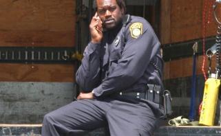 Sh.O'Nealas tapo policijos pareigūnu Floridos valstijos miestelyje