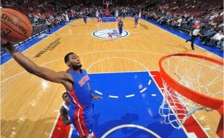 """NBA čempionate - """"Pistons"""" ir """"Suns"""" klubų pergalės"""