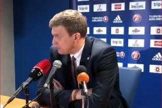 Nusivylęs D.Adomaitis kaltino ne tik žaidėjų klaidas, bet ir lipdukus