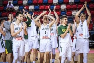 Jaunimas įveikė turkus ir Europos čempionate iškovojo penktą vietą