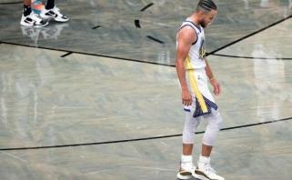 """S.Curry: """"Siaubinga. Mums išspardė užpakalius"""""""