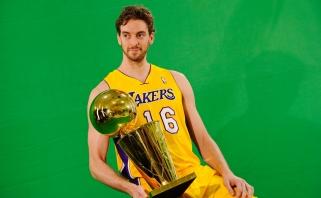 """P.Gasolis svajoja karjerą baigti """"Lakers"""" klube"""