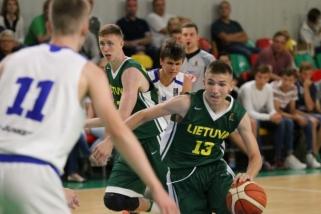 Lietuviai pratęsė pergalių seriją Baltijos taurės turnyre