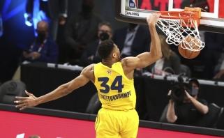 """NBA """"Visų žvaigždžių"""" rungtynėse triumfavo LeBrono komanda, MVP – Giannis"""
