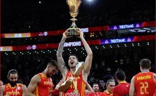 Pasaulio čempionas J.Hernangomezas: šį sezoną man sunku pavadinti geru