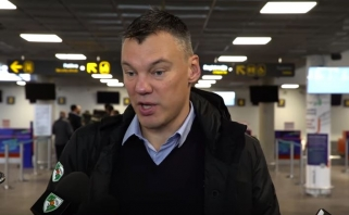 Š.Jasikevičius apibūdino Milano komandą ir gyrė jos lietuvius