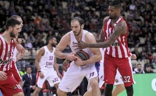 CSKA ieško galimybių atsisveikinti su nusivylimu tapusiu aukštaūgiu iš Graikijos