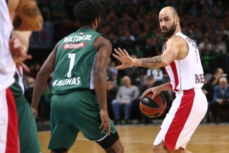 """""""Olympiakos"""" simbolis V.Spanoulis lieka Pirėjuje dešimtam sezonui"""