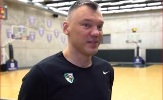 """Į kovą su """"Budučnost"""" žalgiriečiai stos be traumuoto N.Wolterso (video komentaras)"""