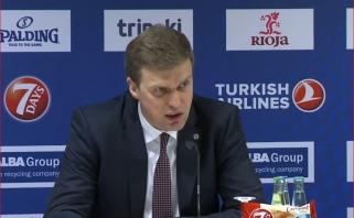 Sugniuždytas D.Adomaitis: vėl žaidėme gerai, bet pralaimėjome