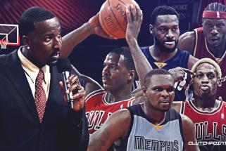 K.Perkinsas įvardijo NBA lygos visų laikų kiečiausių žaidėjų penketą