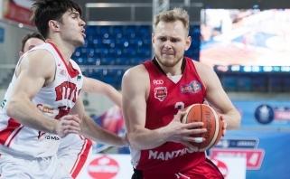 """""""Šiaulių"""" marškinėlius vilkės naudingiausias NKL čempionų žaidėjas"""