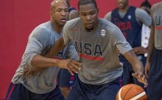 Pasiruošimą Rio pradėjo ir JAV žvaigždės: tikslas vienas - auksas