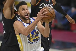 NBA arenose – geriausia karjeroje Curry serija, Giannio sugrįžimas ir čempionų nesėkmė