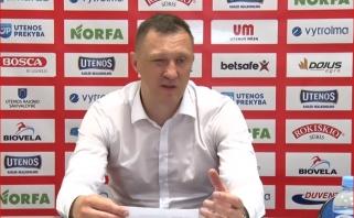 """V.Šeškų pasveikinęs Ž.Urbonas: man didžiulė garbė nukauti tokį galingą klubą kaip """"Rytas"""""""