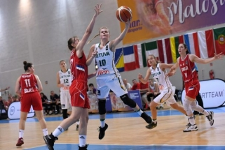 Dvidešimtmetės nusileido ir serbėms bei Europos čempionate kovos dėl 13-os vietos