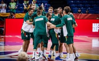 Galutinėje pasaulio čempionato įskaitoje lietuviai užėmė aukštą vietą