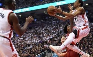 """""""Raptors"""" perrašė istoriją, o J.Valančiūnas prisijungė prie elitinių NBA lietuvių"""