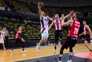 Ispanijoje ekipų su trimis lietuviais dvikovoje žaidė tik Miniotas